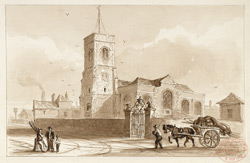 Deptford old church (St Nicholas)